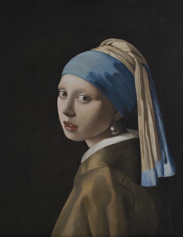 """Copia di """"La ragazza con l'orecchino di perla"""""""